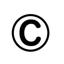 Bildergebnis für fotos vom copyright zeichen