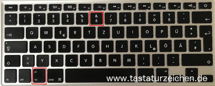 Schließende Eckige Klammer Shortcut mac apple