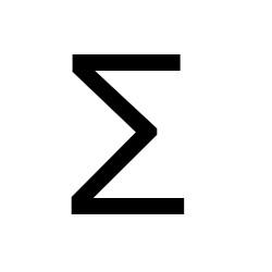 Summen Zeichen Mathematik Sonderzeichen Mac Tastatur